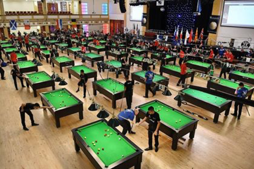 Championnats du monde de billard blackball 2018 à la Spa Arena - Bridlington