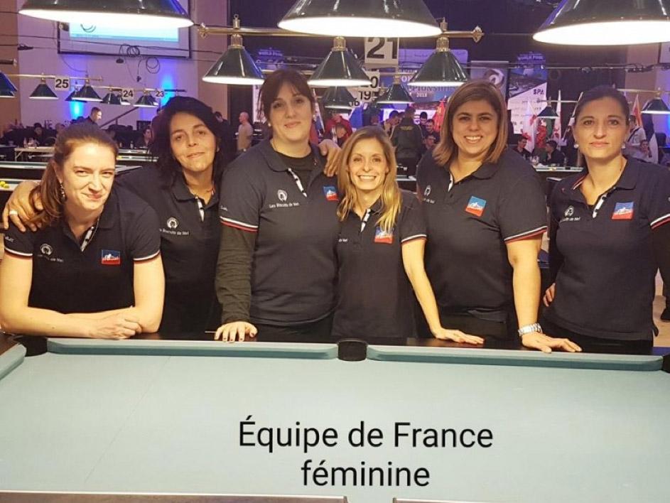 Équipe de France féminine de billard Blackball