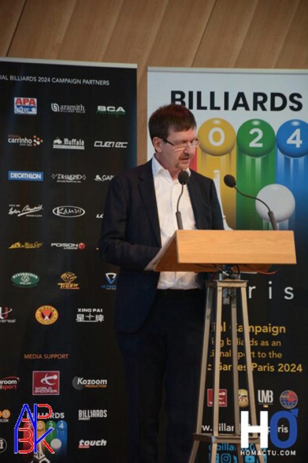 Jean-Pierre Guiraud (Comité « Billard 2024 »)