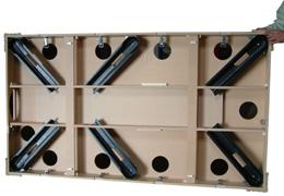 Installation d 39 un billard 4 pieds for Plan table de billard