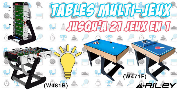 Tables Multijeux